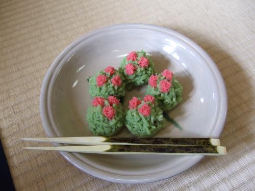 菊屋さんの主菓子