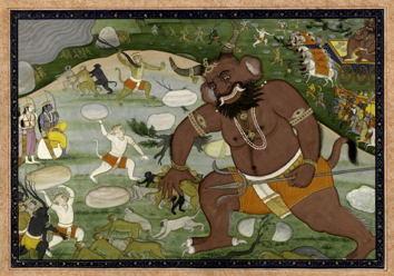 5-1The_battle_between_Hanuman_and_Kumbhakarna.jpg