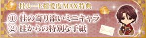 桂MAX特典