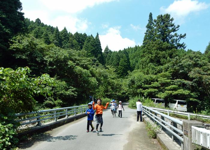 2017,8,27車谷沢登り-13