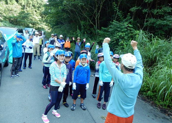 2017,8,27車谷沢登り-2