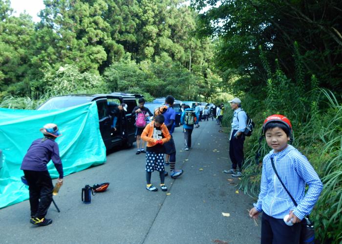 2017,8,27車谷沢登り-1