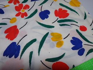 花柄布団カバー