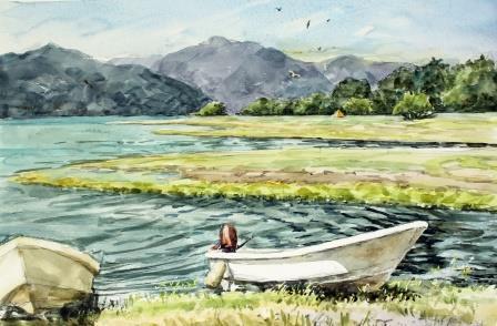 中善寺湖の7月