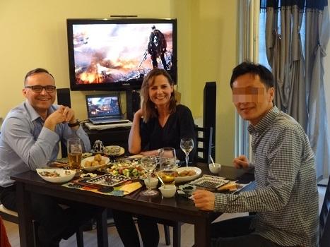 2017 我が家で食事会