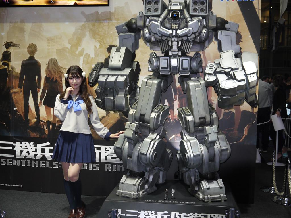 TGS2017 東京ゲームショウ2017 コンパニオン