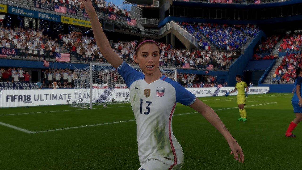 FIFA18switchアレックスモーガン