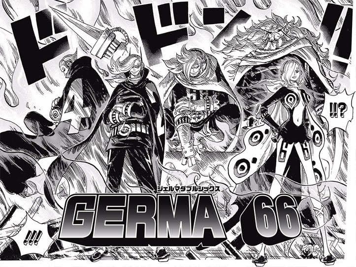 ワンピースジェルマ66