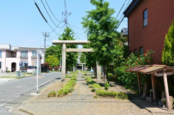 下戸田氷川神社①
