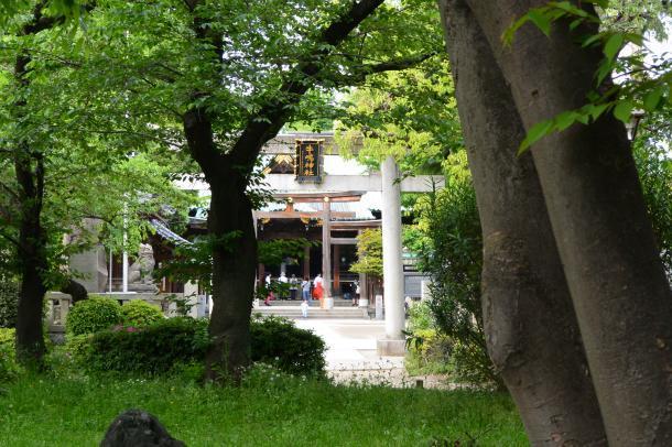 牛島神社①