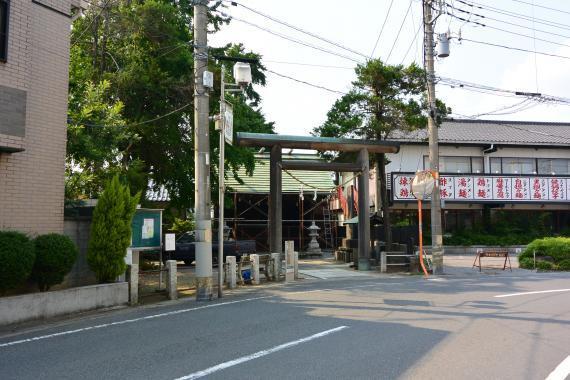 宿篠葉神明神社①