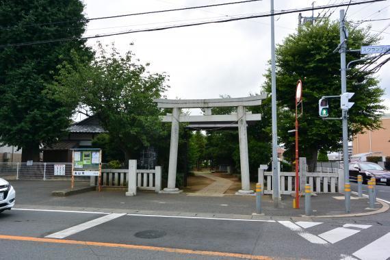 向小金香取神社①
