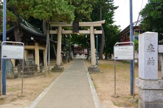 柴又八幡神社①