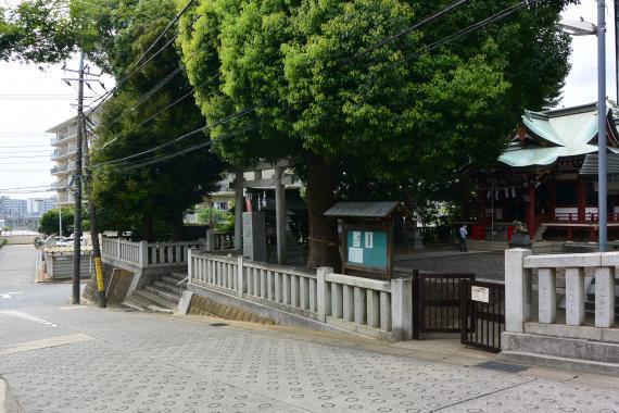 小金八坂神社①