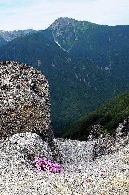 北岳とビランジ
