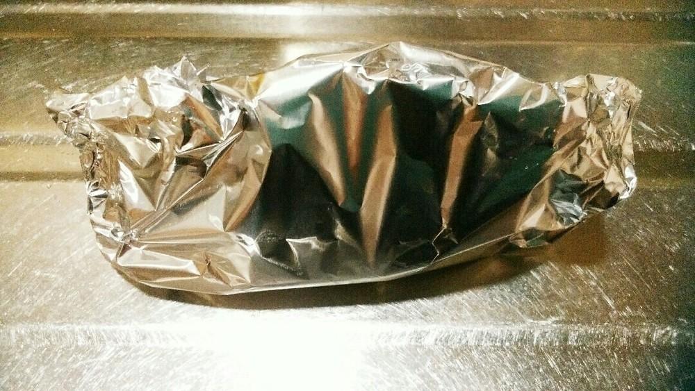 鮭のホイル焼きの作り方4