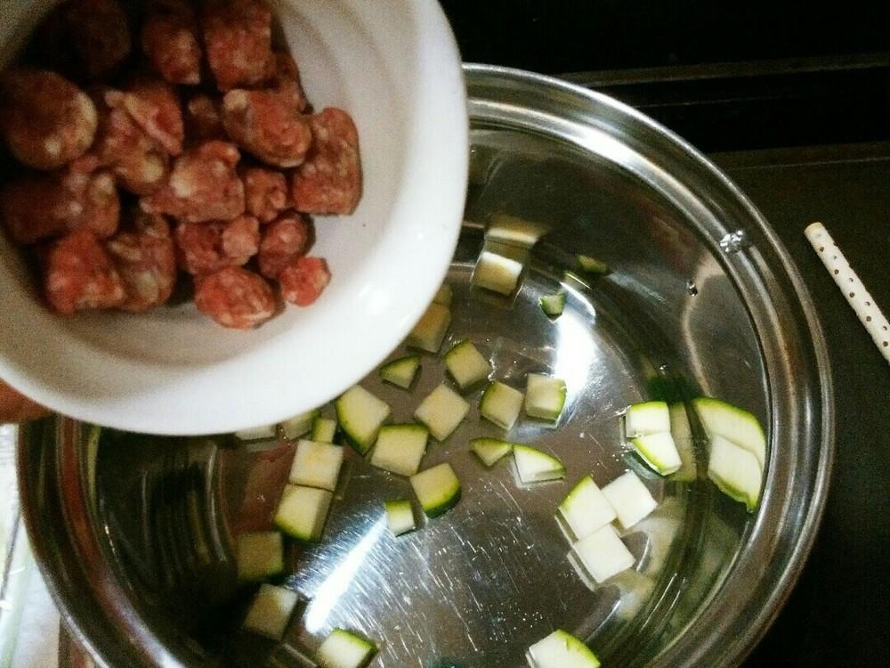 麻婆豆腐風あんかけご飯の作り方2
