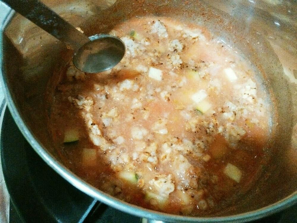 トマトミルクリゾットの作り方8