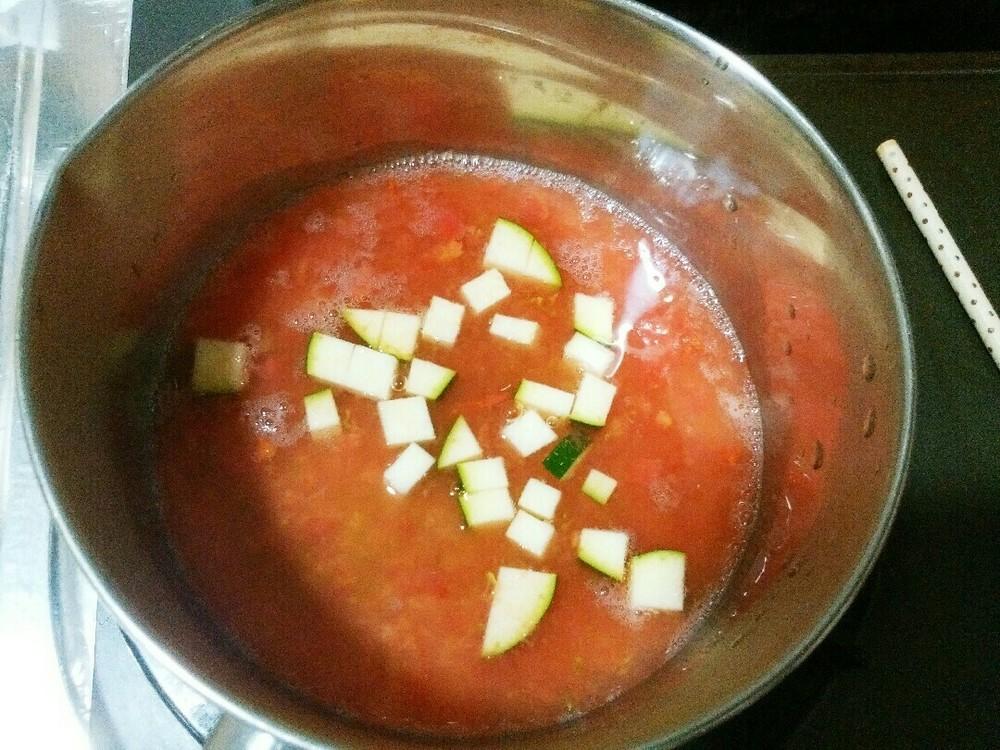 トマトミルクリゾットの作り方5