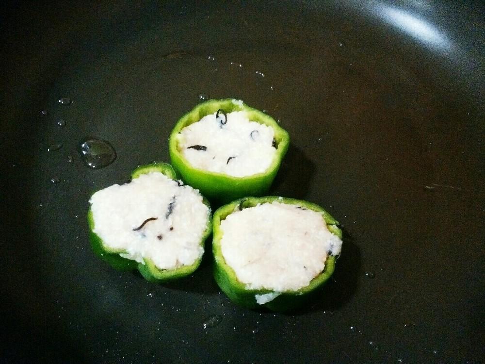 ピーマンのヘルシー肉詰めの作り方6