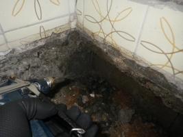 浴室の処理
