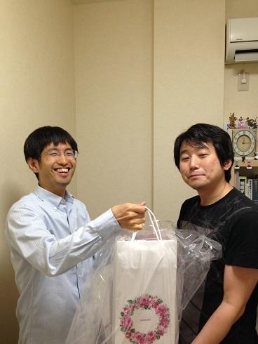和田先生開業祝い