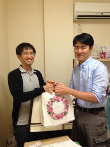 作田先生開業祝い