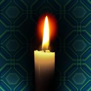 蝋燭pixabay透過