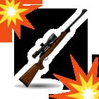 ライフルemojidex爆発