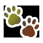 肉球足跡Mozilla