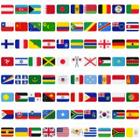 国旗たくさん
