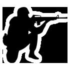 狙撃兵シルエットpixabay