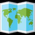 世界地図Facebook