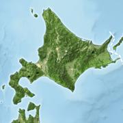 北海道Wikimedia地形