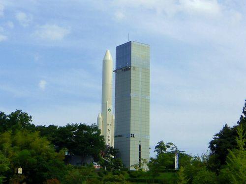 角田台山公園1スペースタワー遠景