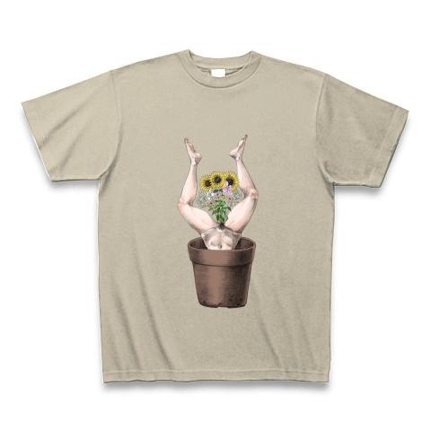 植木鉢シリーズ・夏の脚華2017-Tシャツ