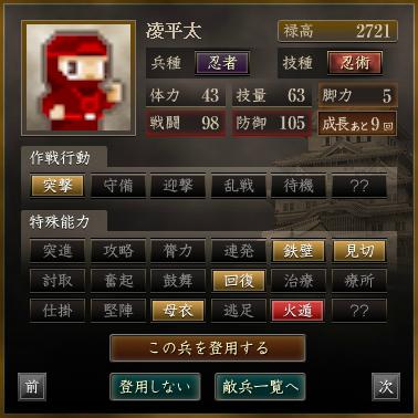 凌平太 赤