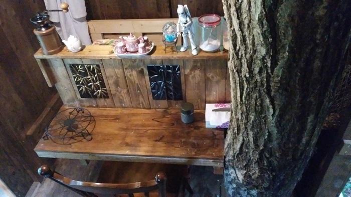 treehouse カウンター