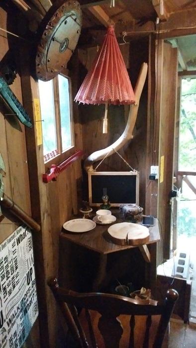 treehouse コーナ席