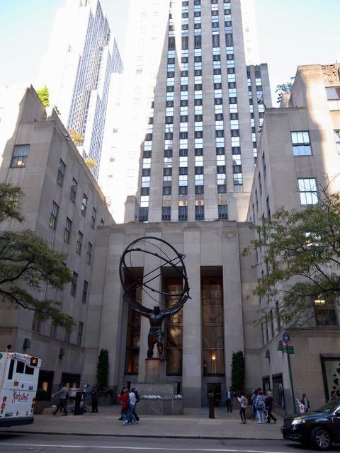 ニューヨーク 銅像 - 1