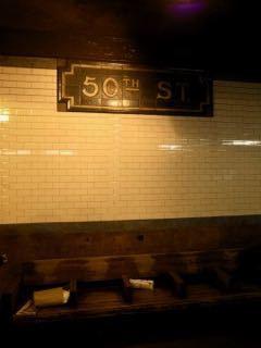 NY 50丁目駅 - 1 (3)
