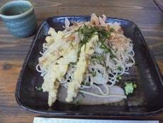ブログ9干しタケノコ天蕎麦