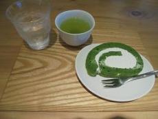 ブログ11抹茶ロールケーキセット