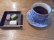 ブログ13豆腐チョコとコーヒー