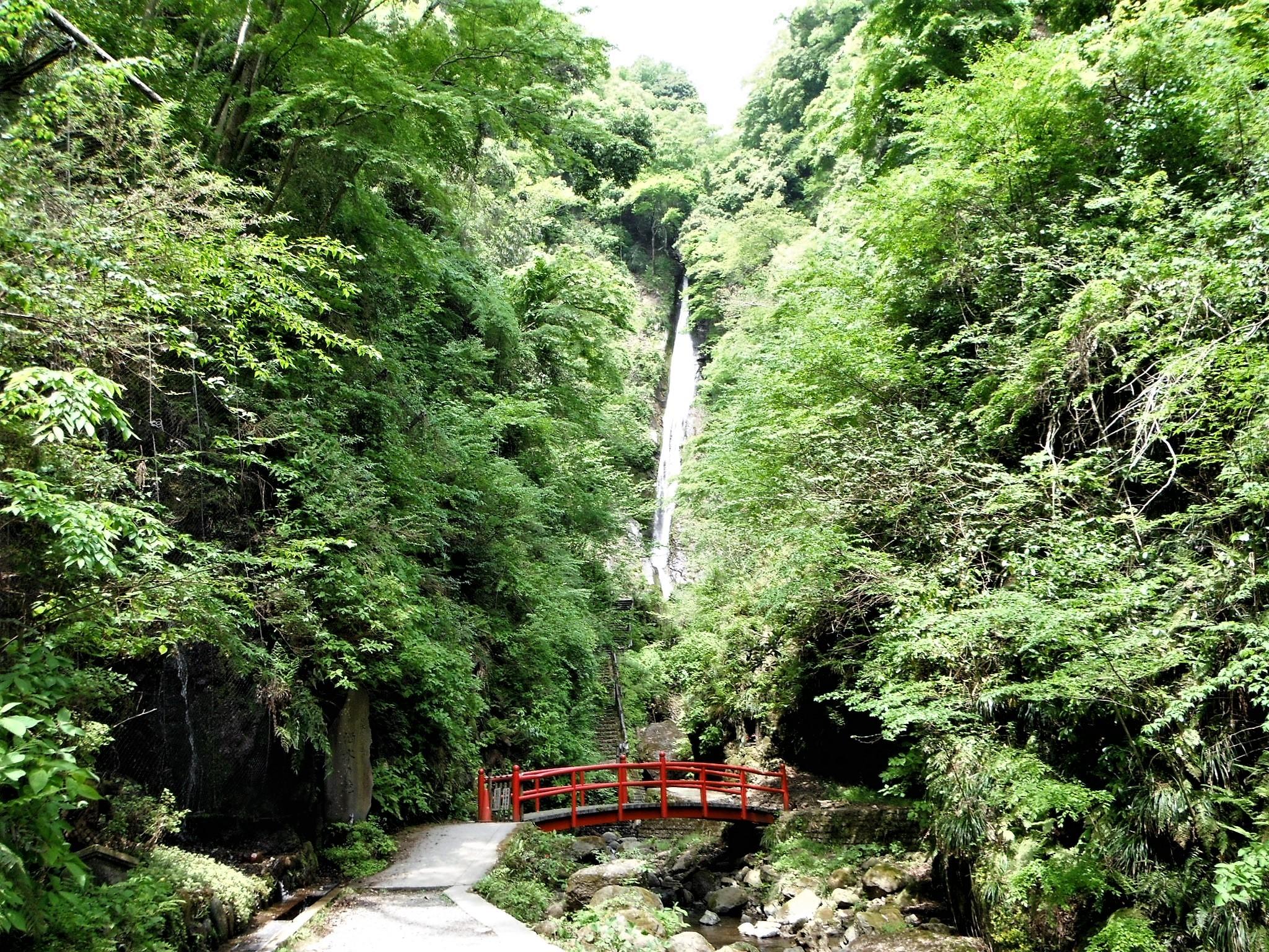 洒水の滝1