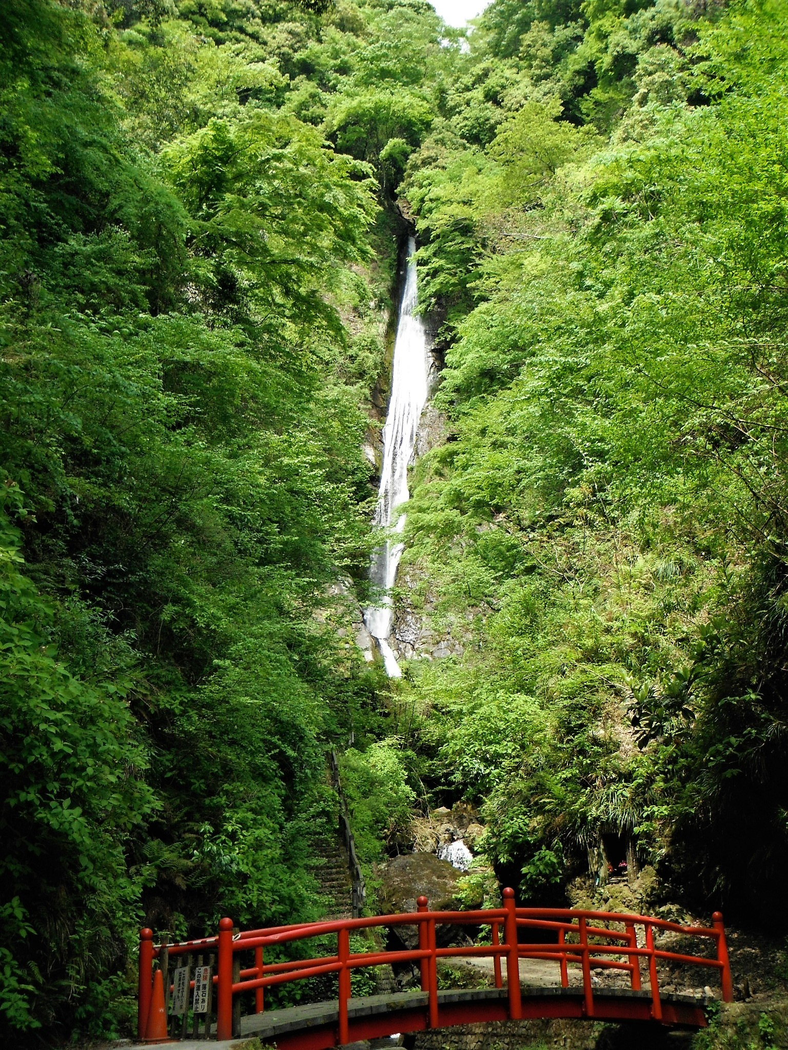 洒水の滝12