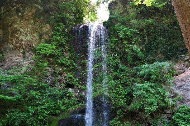 夕日の滝10