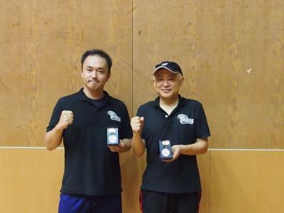 関東大会一般男子C準優勝