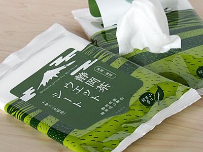 静岡茶ウエットシート