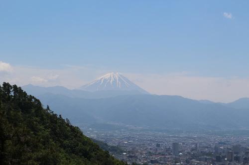 20170527 和田峠 みはらし広場からの富士山